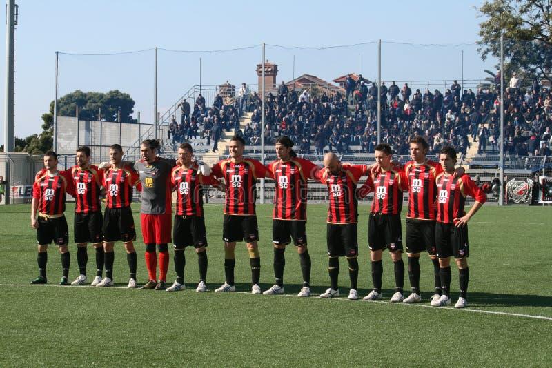 Equipo de fútbol de Sorrento fotos de archivo libres de regalías