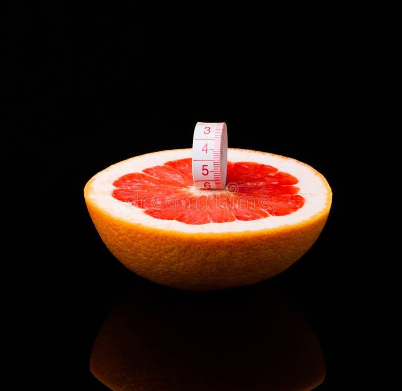 Equipo de la aptitud Alimento sano pomelo, agua, manzana, fresco, clara, frutas imagen de archivo libre de regalías