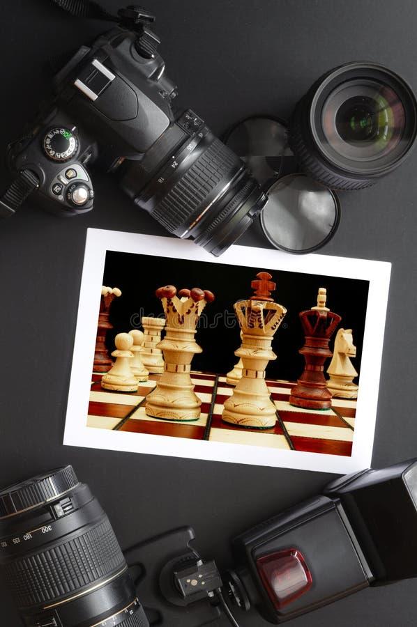 Equipo de la fotografía fotos de archivo libres de regalías