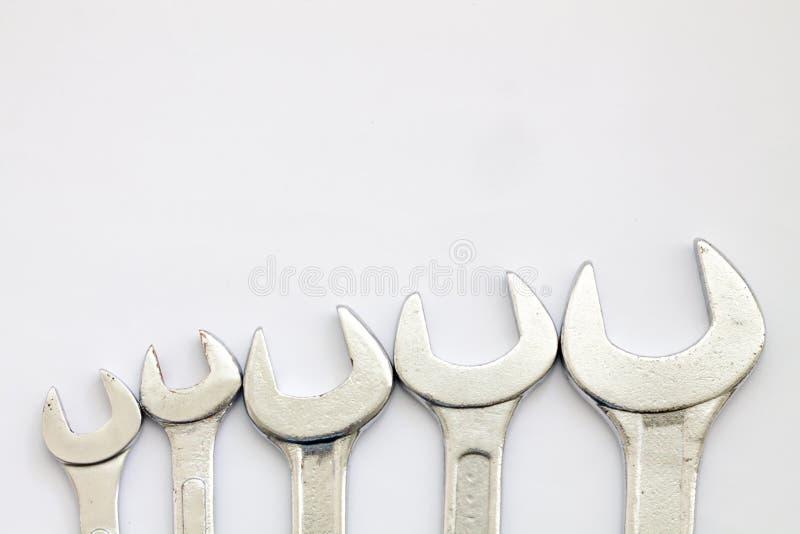 Equipo de la herramienta de la llave imagen de archivo