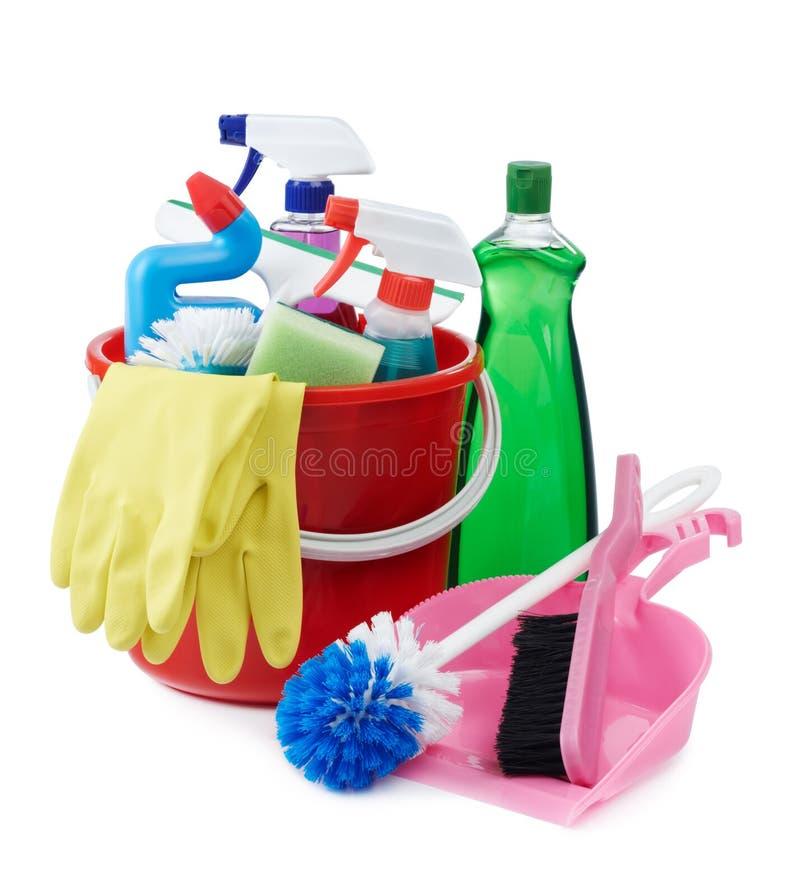 Equipo de la limpieza foto de archivo imagen de aerosol - Imagenes de limpieza de casas ...