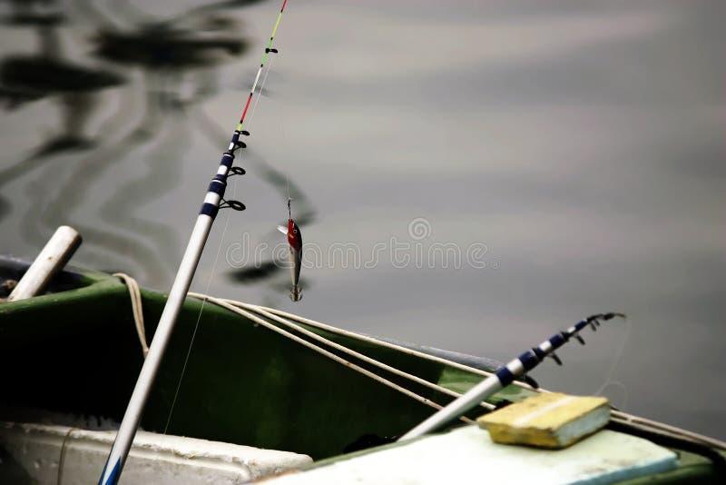 Equipo de pesca imágenes de archivo libres de regalías