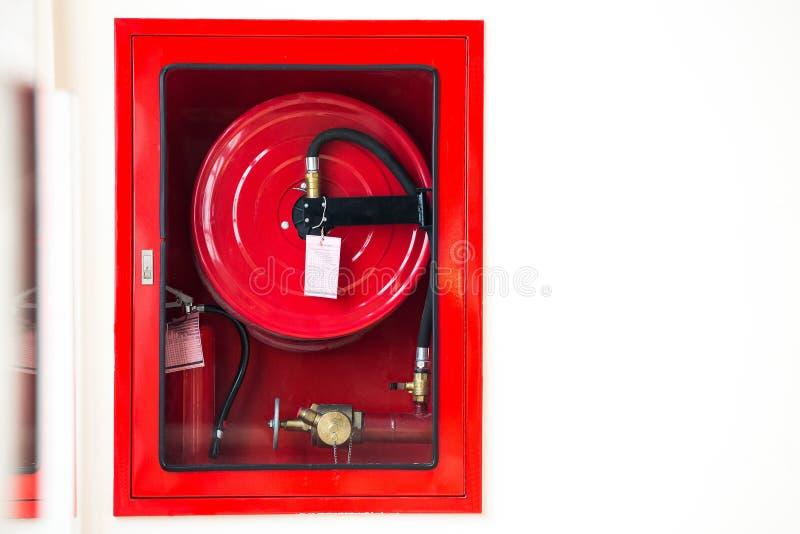 Equipo de seguridad contra incendios foto de archivo