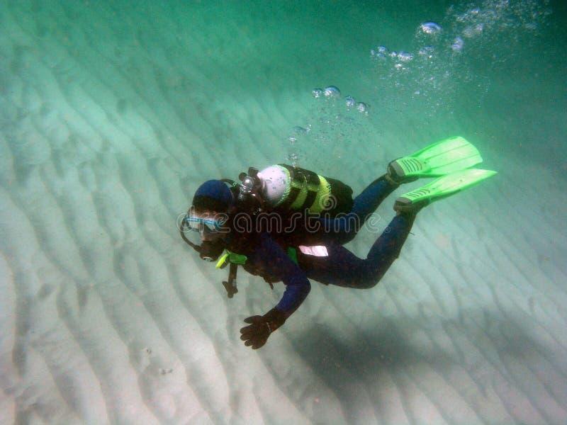 Equipo de submarinismo 1 fotos de archivo libres de regalías