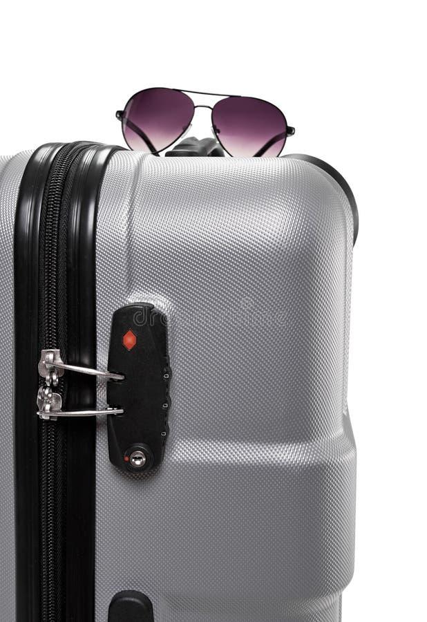 Equipo del equipaje de Travell imágenes de archivo libres de regalías
