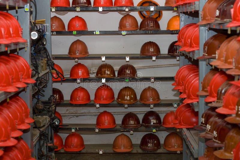Equipo minero fotografía de archivo libre de regalías
