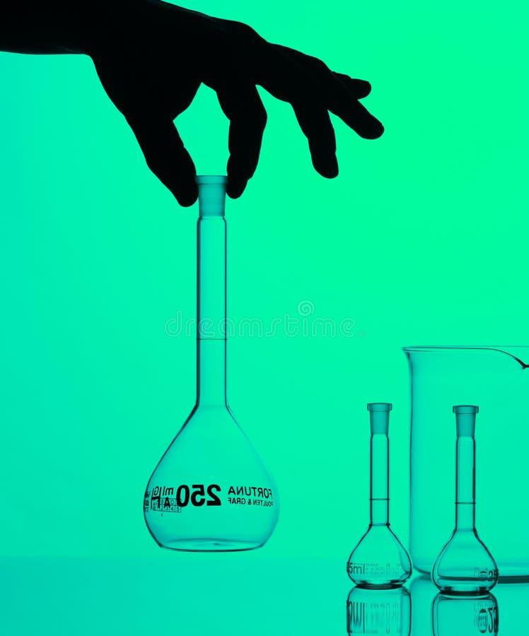 Equipo químico imagen de archivo libre de regalías