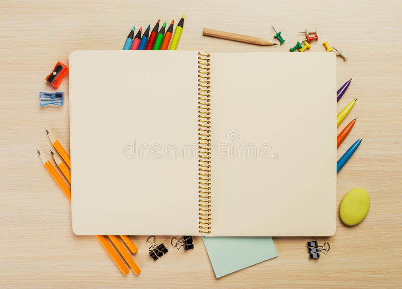 Equipos de dibujo imágenes de archivo libres de regalías