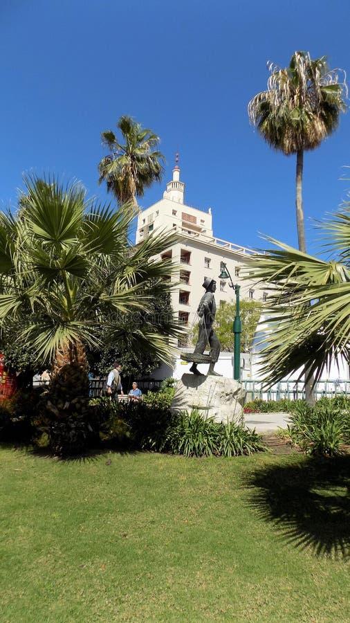 EQUITQTIVA Costruzione-Malaga-Andalusia-Spagna fotografia stock