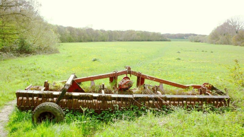 Er is dichtbij een landbouwbedrijf royalty-vrije stock fotografie