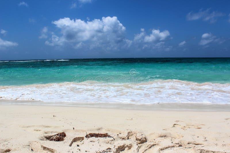 Er karibisches Meer lizenzfreie stockfotografie