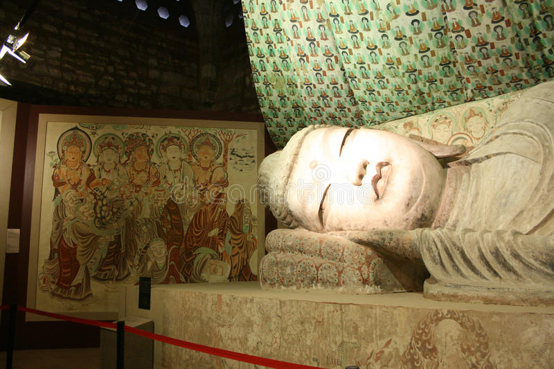 Arte buddista fotografia stock