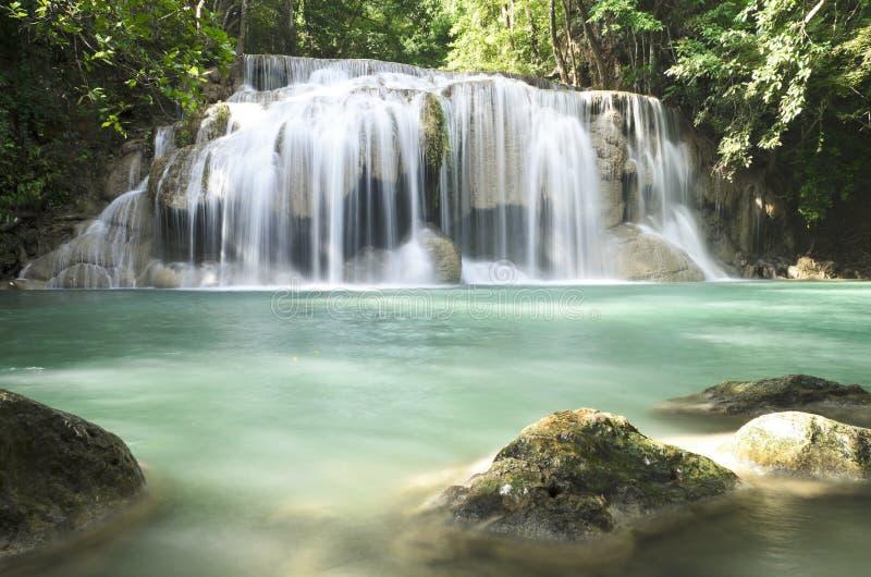 Era van waterfall. In kanchanaburi province,Thailand royalty free stock photos