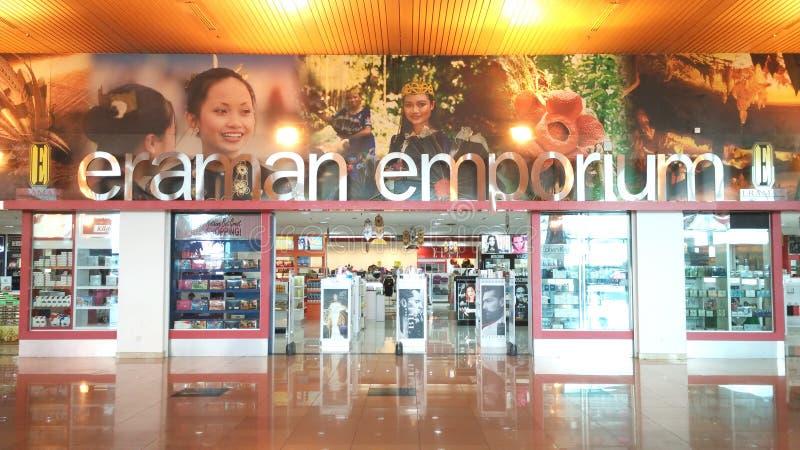 Eraman emporium royaltyfri bild