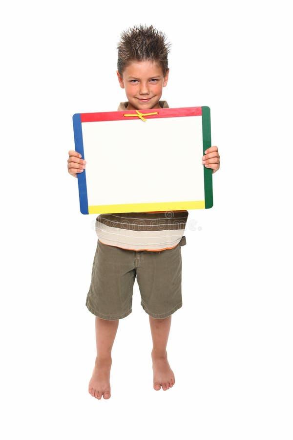 erase мальчика доски сухой счастливый стоковые изображения rf