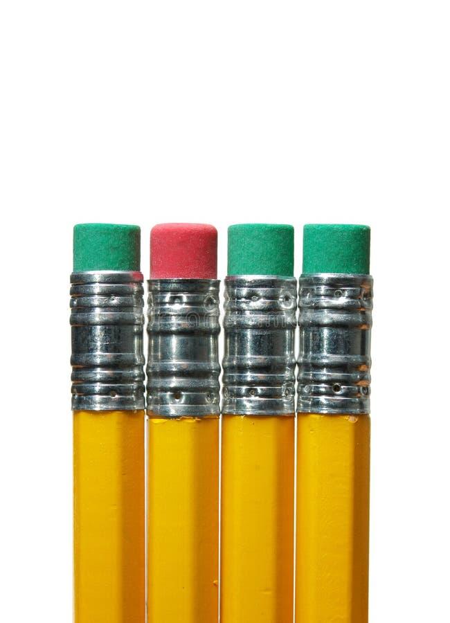 Eraser di matita immagine stock
