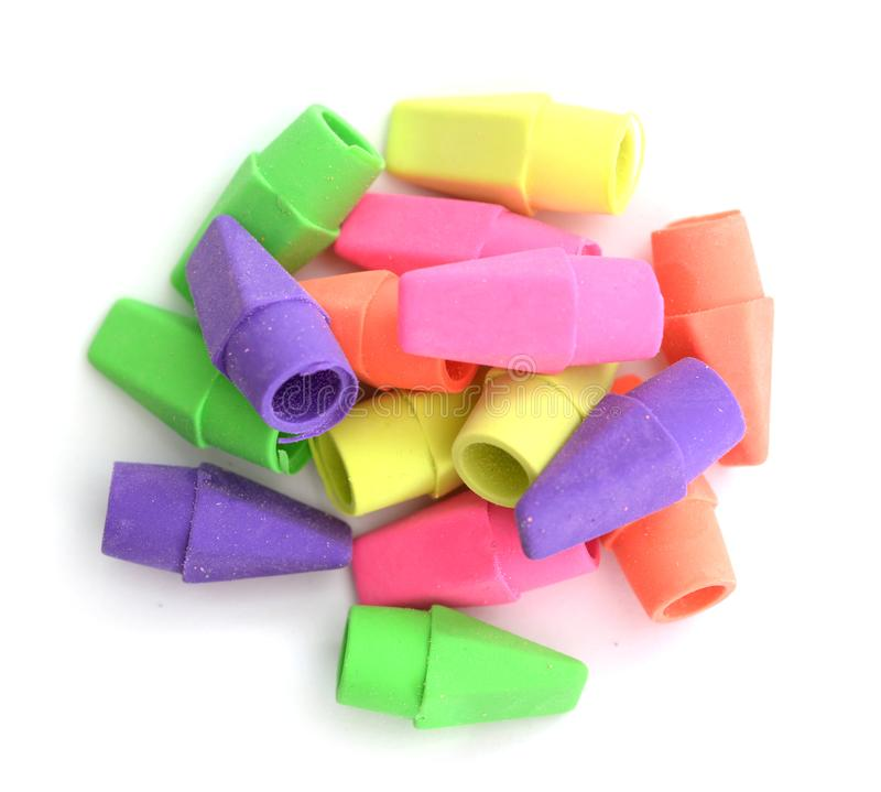 Erasers royalty free stock images