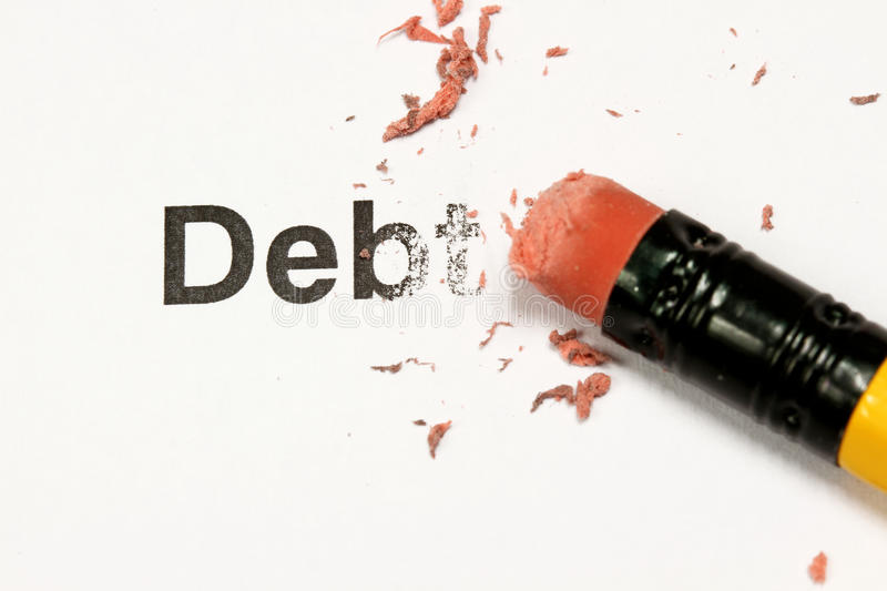 Download Erasing Debt stock image. Image of erase, loan, deleting - 12145435