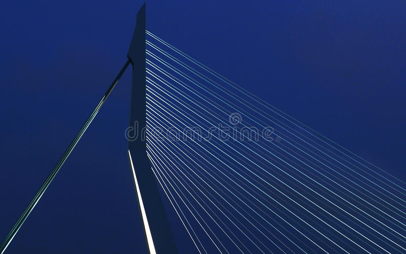 Erasmus Bridge immagini stock