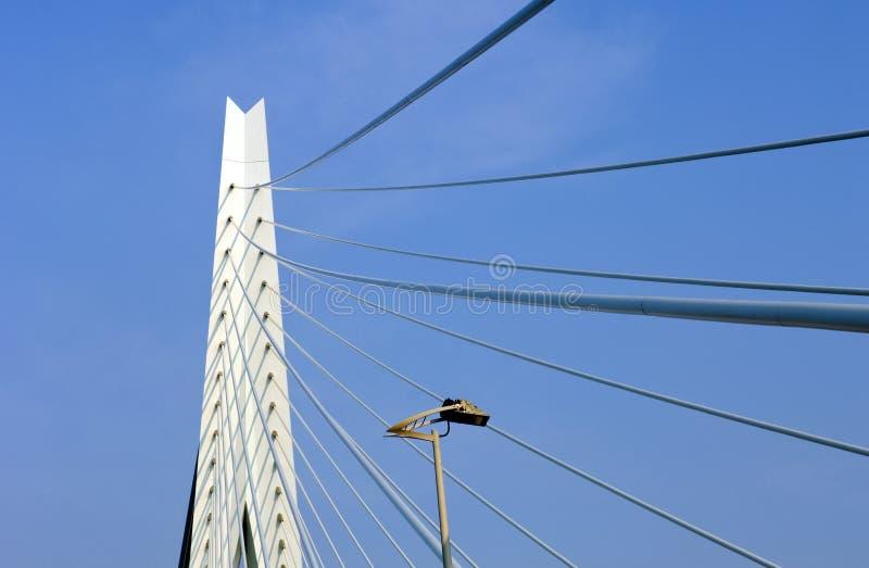 Download Erasmus Bridge Detail editorial photography. Image of shadows - 4311837