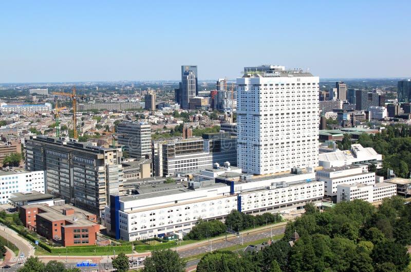 Erasmus Medical Center Rotterdam Nederländerna royaltyfri fotografi