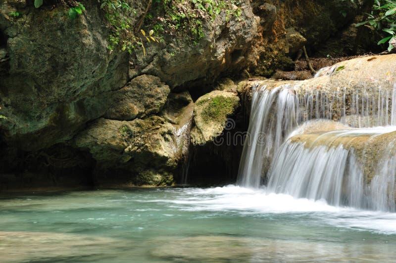 Download Eravan Waterfall, Kanchanabury, Thailand Stock Photo - Image: 21431322
