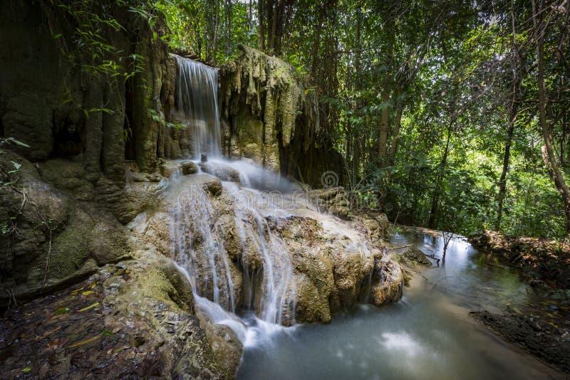 Erawan Nationalpark Thailand royalty-vrije stock afbeeldingen