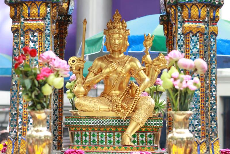 Erawan shrine. In Bangkok, Thailand royalty free stock photo