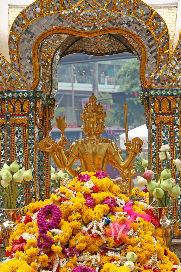 Free Erawan Shrine Royalty Free Stock Photos - 2539538