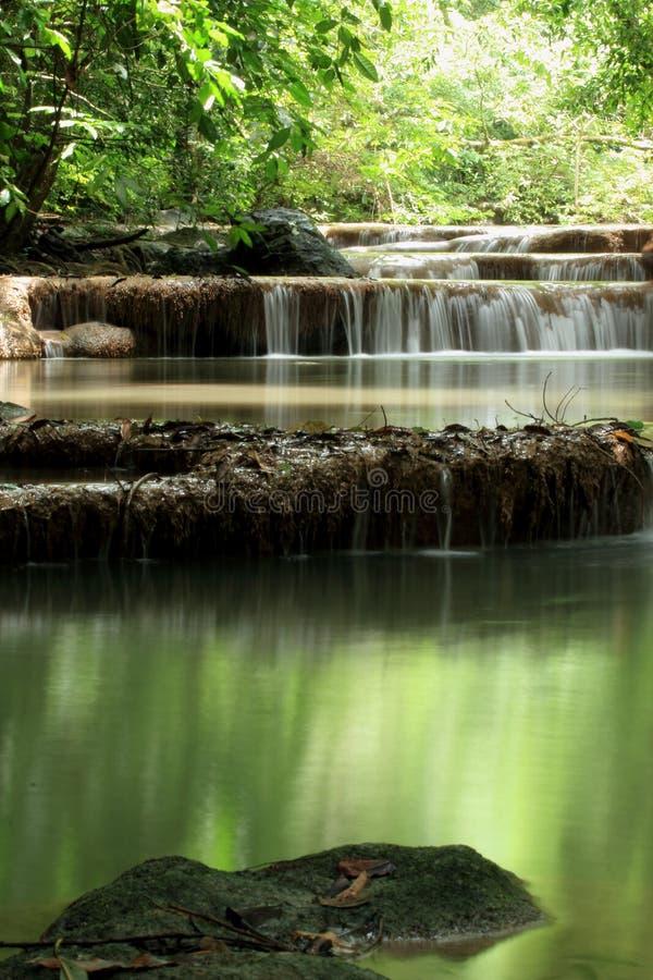 Download Erawan Waterfall stock photo. Image of beautiful, growth - 26092922