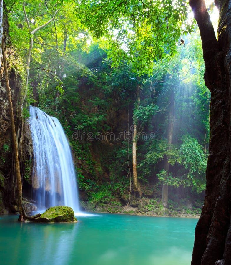 Download Erawan Waterfall, Kanchanaburi, Thailand Stock Photo - Image: 21908918