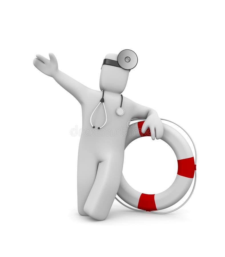 Erba medica con il salvagente. L'immagine contiene il percorso di residuo della potatura meccanica royalty illustrazione gratis