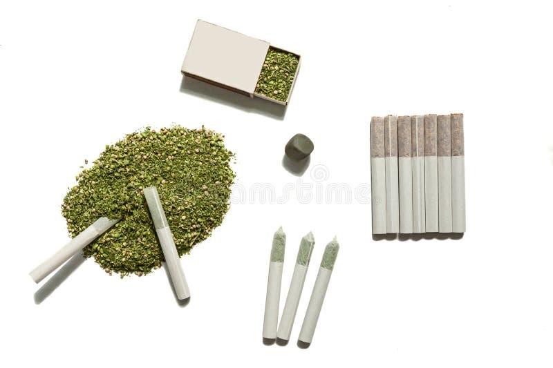 Erbaccia per fumare fotografie stock