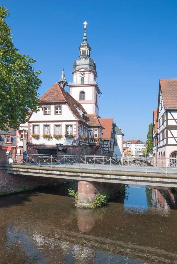 Erbach, Odenwald, Hesse, Γερμανία στοκ φωτογραφία με δικαίωμα ελεύθερης χρήσης