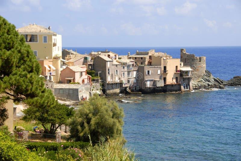 Erbalunga, Corsica, France stock images
