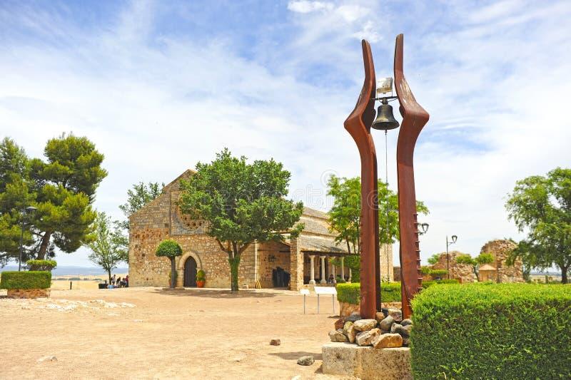Erbe der Jungfrau von Alarcos, Ciudad Real, Castilla la Mancha, España stockfotografie