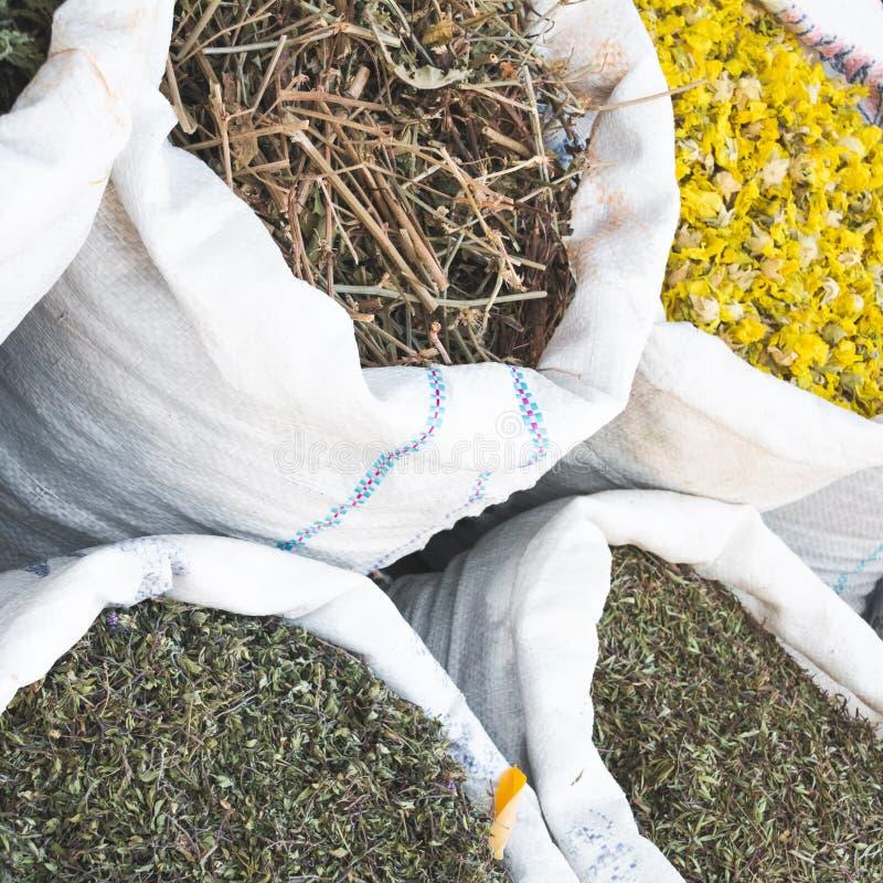 Erbe e fiori secchi immagine stock