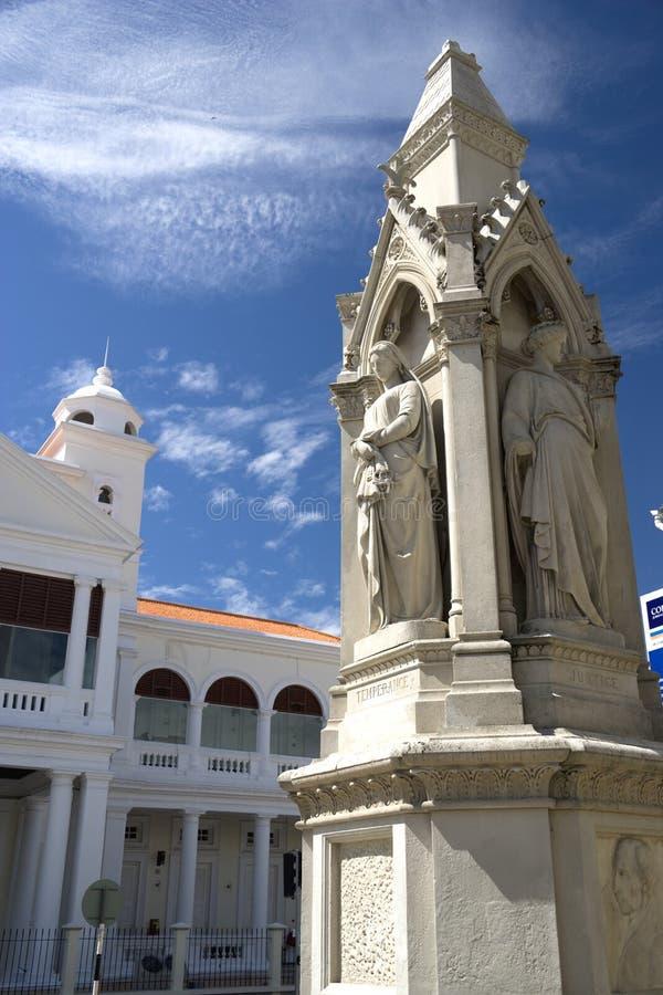 Erbe-Statuen von Gerechtigkeit lizenzfreies stockfoto