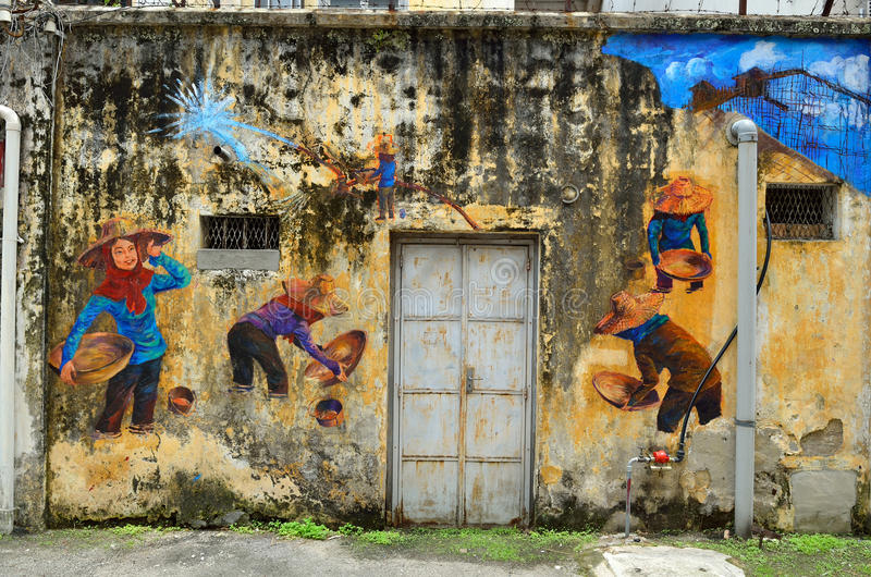 Erbe von Ipoh, Malaysia - Ipoh ist eine Stadt in Malaysia, ungefähr 200km nördlich Kuala Lumpurs lizenzfreies stockbild