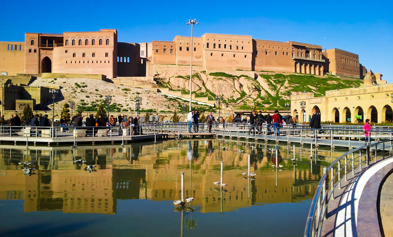erbil ακρόπολη στοκ εικόνα με δικαίωμα ελεύθερης χρήσης
