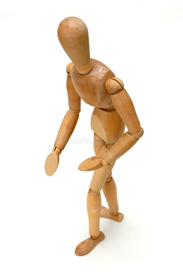 erbjuda för figurine royaltyfri bild