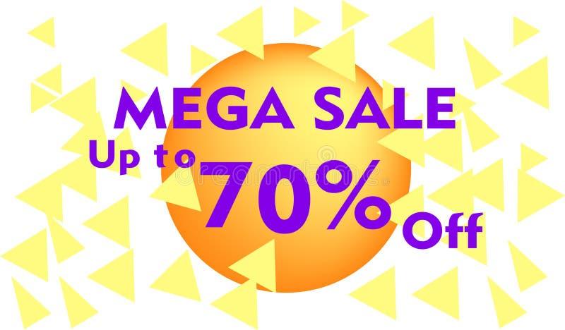 Erbjudande för stor försäljning för design för Sale banermall specialt flödande dynamisk formbakgrund royaltyfri illustrationer