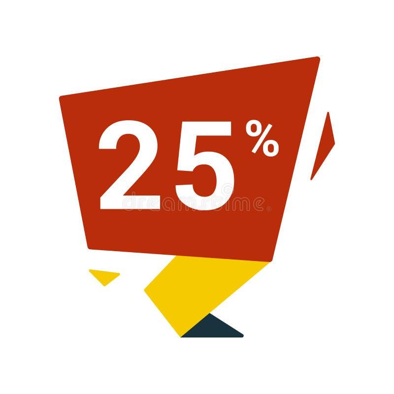 erbjudandesymbol Idérik beståndsdeldesign från att shoppa klistermärkesymbolssamlingen Perfekt erbjudandesymbol för PIXEL för ren stock illustrationer