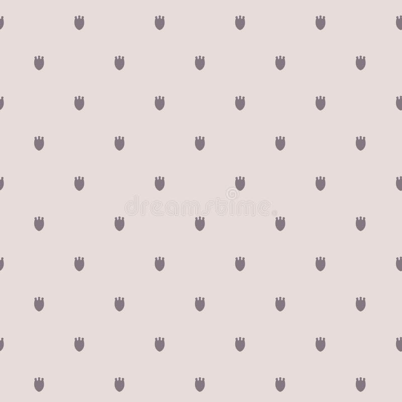 Erblassen Sie Lichttulpen whith Muster des Pastellfarbvektors nahtlose Beschaffenheit für Packpapier, scrapbooking Design vektor abbildung