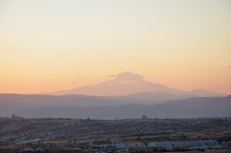 Erciyes góra zdjęcie royalty free