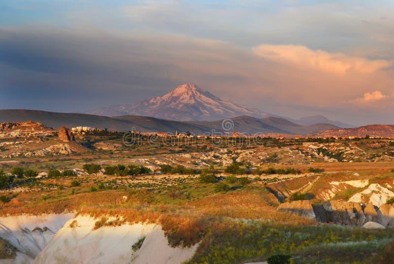 Erciyes mountain (Cappadocia) stock photo