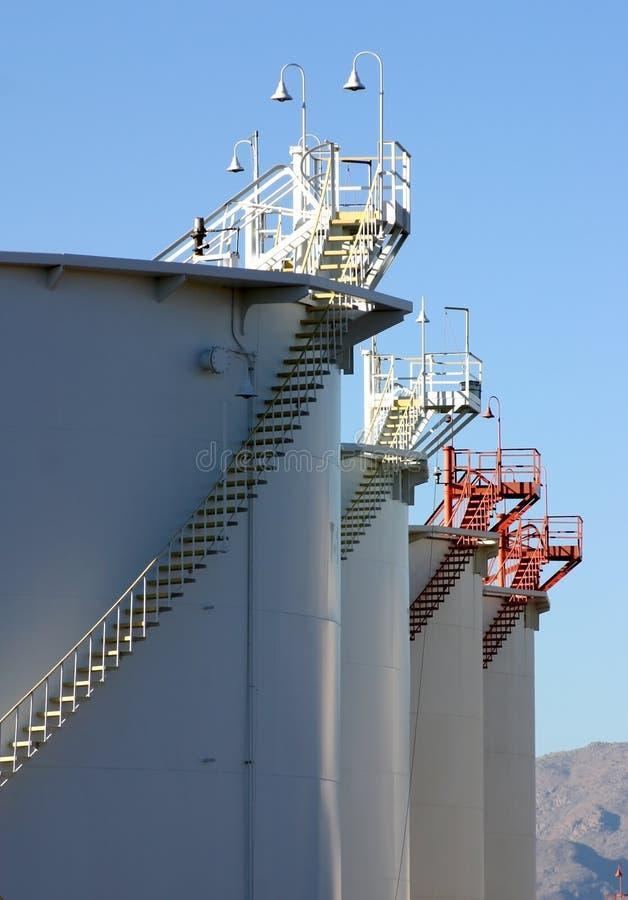 Erdöl-Produkt-Depot stockbilder