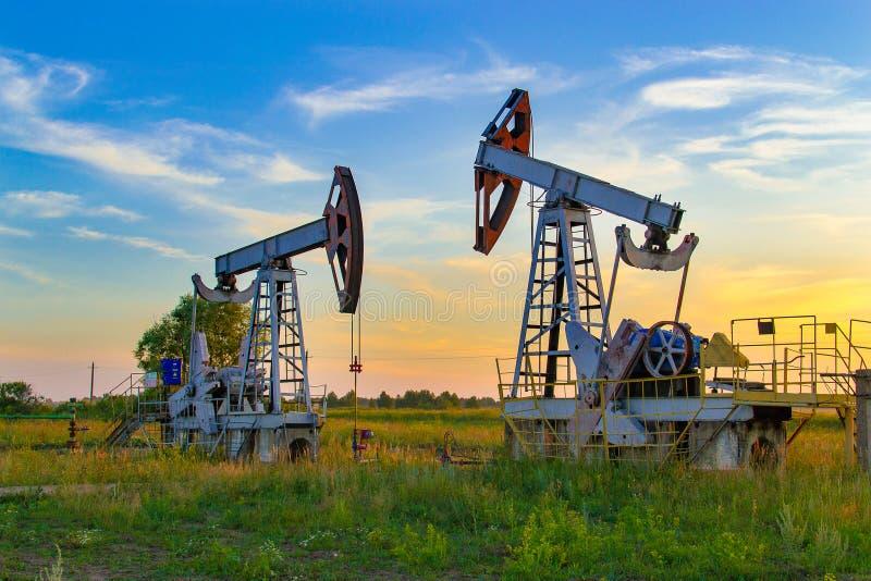 Erdölindustrie innen in Russland Erdölindustrie equipment lizenzfreie stockbilder