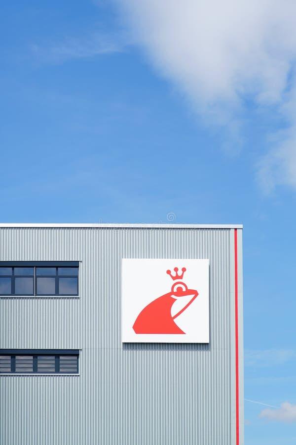 Erdal hoofdinstallatie Mainz stock foto's