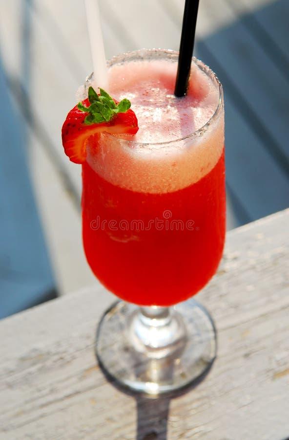 Erdbeere Daiquiri stockfoto